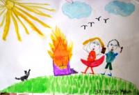Выставка «С огнем играть опасно-это всем должно быть ясно!»