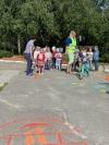 В детском саду прошло мероприятие по ПДД «Веселый светофор»